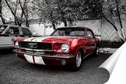 Постер Ford Mustang