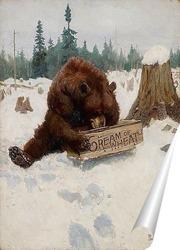 Постер «Медведь» Шанс