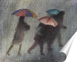 Постер Проливной дождь.