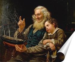 Постер История о море