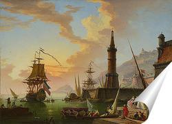 Постер Морской порт