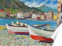 Постер Рапалло, Лодки