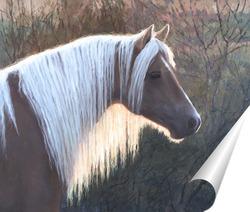 Постер Этюд головы лошади