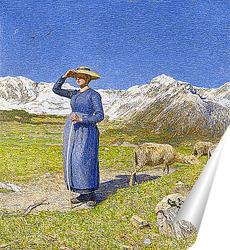 Постер Полдень в Альпах