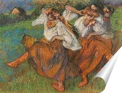 Постер Русские танцовщицы, 1899