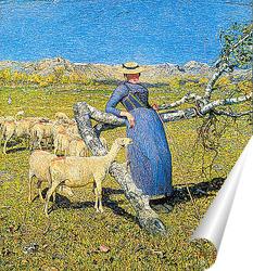 Постер Ровно в полдень в Альпах