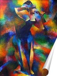 Постер Певица