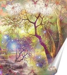 Постер  Сказочный сад