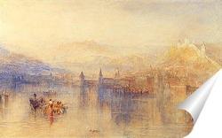 Постер Люцерна из озера