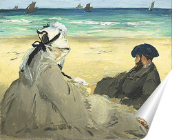 Постер На пляжу