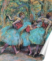 Постер Три танцовщицы
