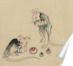 Постер Две мышки