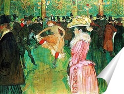 Постер Танец в Мулен Руж