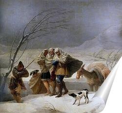 Постер Метель или зима