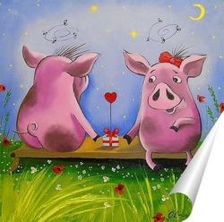 Постер Подарок для любимой