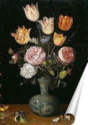 Постер Цветочный натюрморт