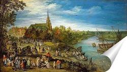 Постер Деревенская ярмарка