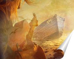 Постер Морская романтика