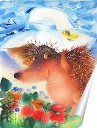 Постер Ёжик в панаме