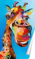 Постер Улыбка жирафа