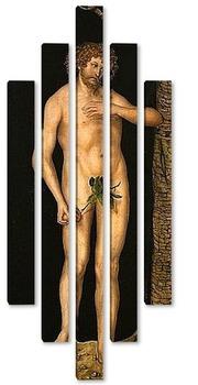 Модульная картина Адам