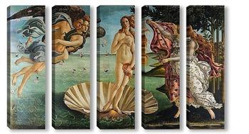 Модульная картина Рождение Венеры