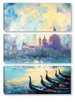 Модульная картина Чарующая Венеция