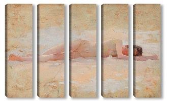 Модульная картина Спящая обнаженная, около 1890-1900