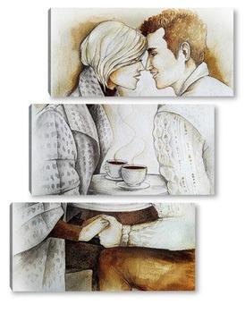 Модульная картина Романтика