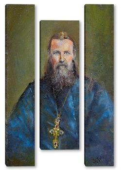 Модульная картина Праведный Иоанн Кронштадский