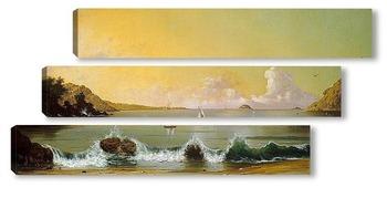 Модульная картина Залив в Рио де Жанейро