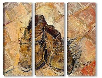Модульная картина Пара старых ботинок, 1888