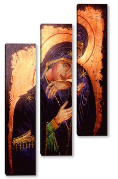 Модульная картина Ахтырская икона Божией Матери