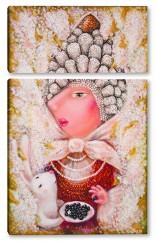 Модульная картина Княгиня Черёмухова