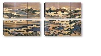 Модульная картина Sakuma Soen