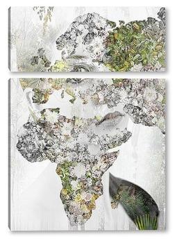 Модульная картина Артпостер портрет