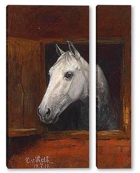 Модульная картина Портрет 1910