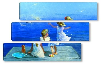 Модульная картина Мечты о море