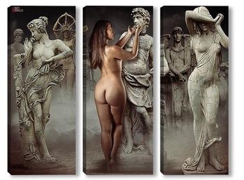 Модульная картина Скульптуры