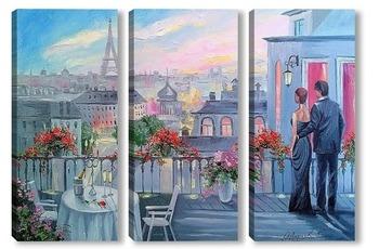 Модульная картина Медовый месяц