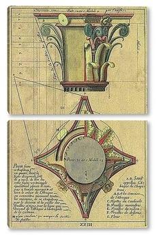 Модульная картина Architecture 58