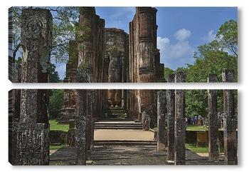 Модульная картина Полоннарува. Цейлон. Шри Ланка