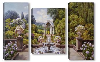 Модульная картина Чудесного сада волшебная пора