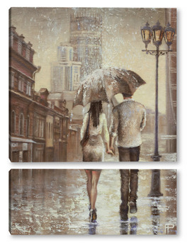 Модульная картина Love story 2