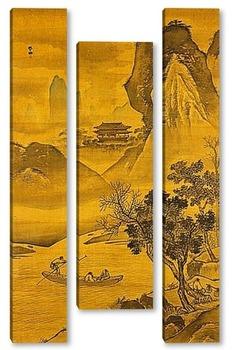 Модульная картина Zhang Lu