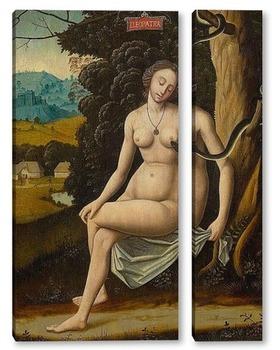 Модульная картина Смерть Клеопатры как аллегория искушения
