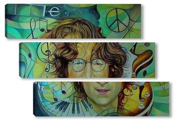 Модульная картина Джон Леннон