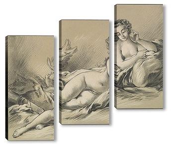 Модульная картина Лежащая Венера