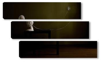 Модульная картина Натюрморт с вентилятором