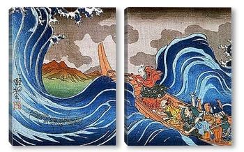 Модульная картина Utagawa Kunioshi